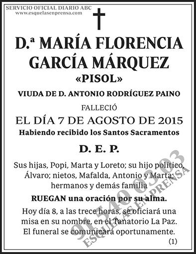 María Florencia García Márquez
